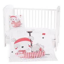kikkaboo baby bedding set pirates 5 pcs
