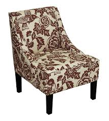 furniture accent arm chairs  jcpenney chairs  burnt orange