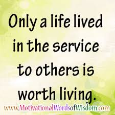 Quotes About Service To Others Classy Motivational Words Of Wisdom SERVE OTHERS WITH PURE INTENTIONS DO