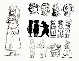 the book thief character which book thief character are you  alyssa raven ani a final book thief character design liesel character design