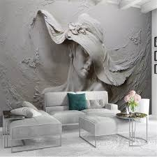Beibehang Custom Tapete 3d Foto Wandmalereien Persönlichkeit Geprägt