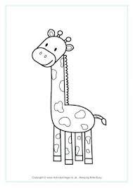 Giraffe Coloring Giraffe Colouring Page 2 Giraffe Colouring Pages