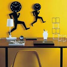home interior decoration with unique wall clocks