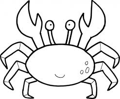 Small Picture Crab Coloring Pages Crabgif Coloring Page mosatt