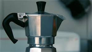 A fantastic manual coffee maker, which is made of stainless steel and has three holes for even water distribution and. Bialetti Moka Express Coffee Maker Stock Footage Video 100 Royalty Free 1011401930 Shutterstock