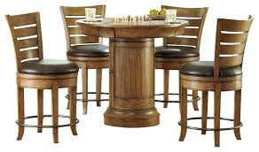 round bar height table and chairs innovative round bistro table set round pub table and chairs