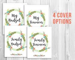 Printable Budget Binder Floral