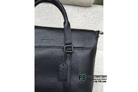 coach metropolitan portfolio in refined pebble leather 71782