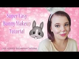 super easy bunny makeup tutorial