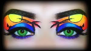 summer 2016 makeup tutorial tropical sunset exotic neon makeup you