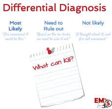 تشخیص های افتراقی در بیماری ها یعنی چه؟