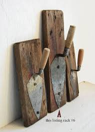 Primitive Coat Rack Vintage Tool Storage, Rustic Steampunk Coat Hook,  Industrial Wall Rack (Diy Crafts For Men)