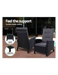 gardeon patio furniture sofa recliner
