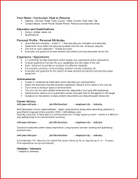 Awesome Attributes For Resume Excuse Letter