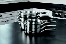 stackable cookware sets. Fine Cookware Calphalon Premier Space Saving Stainless Steel Cookware Securely Stacks To  Save 30 More Space Plus The Unique Cookware Design And Flat Glass Covers  And Stackable Sets A