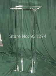 Mirrored Display Stands Free Shipping Mirrored Acrylic Wedding CenterpiecesLucite Event 63