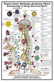 Taoism Life Chart Taoist Inner Alchemy Chart Relationship Of Body Mind