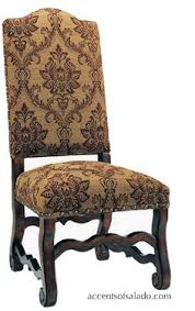 love the style the fabric old world dining room chairs tuscan style dining chairs