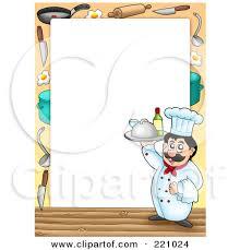 chef border clip art. Plain Border Chef Border Clipart 1 Intended Clip Art D