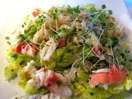 Sass king crab salad - MrPingLife.com