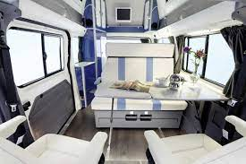 The Other Westfalia Aka The Nugget Luxury Van Ford Transit Campervan Interior