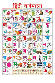 Hindi Alphabets Chart With Malayalam 100yellow Paper Hindi Varnmala Chart For Children Learning Alphabet Educational Poster Multicolour 12x18 Inches