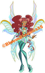 She has a unique and dangerous power that comes from a book called the 'legendarium'. Winx Club Aisha Layla Old Bloomix Transformation By Bloombloomix25 On Deviantart