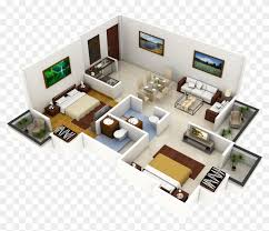 New House Download Modern Home Design With Two Bedrooms Features New House 3d Plans