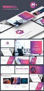 Free Powerpoint Template Design 2019 Minimal Free Powerpoint Template Free Design Resources
