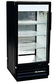 true single door commercial refrigerator with double sided glass doors soda cooler for used 2