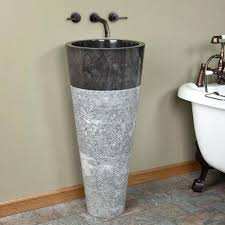 Marble pedestal sink Wash Basin Winchester Java Black Marble Pedestal Sink Sinks Davidlenihaninfo Winchester Java Black Marble Pedestal Sink Sinks Dcarly