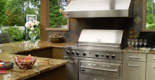 Custom Outdoor Kitchen Designs New Bbq Cabinets And Countertops Best House Interior Today