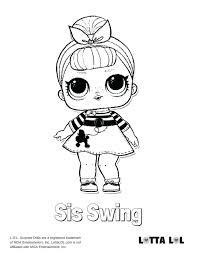 Lol Doll Coloring Pages Cantierinformaticiinfo