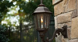 outdoor gas lamp post repair design ideas