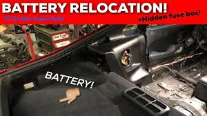 rx8 fuse box relocation images gallery