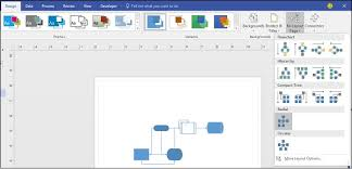 Visio Org Chart Connectors Microsoft Visio Re Layout Page Tutorialspoint