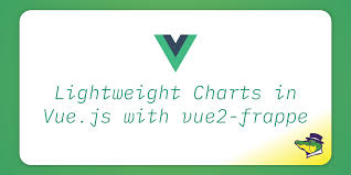 Lightweight Charts In Vue Js With Vue2 Frappe Alligator Io