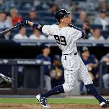 Aaron Judge von den New York Yankees ...
