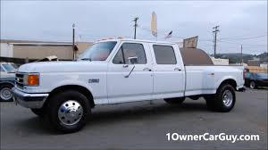 1990 Ford F350 1 Ton Dually Crew Cab Pickup Truck Interior - YouTube