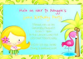 Hawaiian Pool Party Invitations Hawaiian Birthday Party Invitations Best Luau And Pool Party Ideas