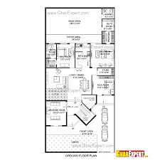 house plan for 48 feet by 100 feet plot plot size 533 square yards