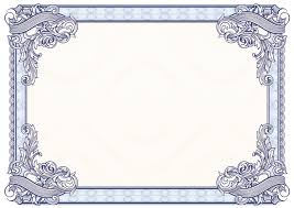 Free Vector Border Design Certificate Border Vector Free At Getdrawings Com Free For