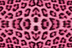 light pink leopard print wallpaper