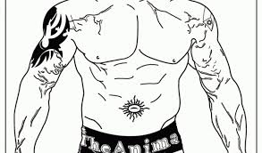 Small Picture Get This WWE Coloring Pages Free Printable 98415