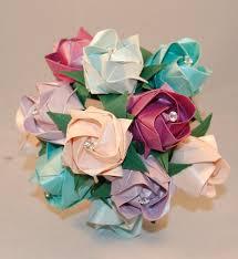 Paper Flower Lyrics Alternative Wedding Roses Valentines Origami Roses Paper Roses