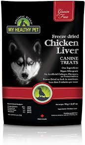 My Healthy Pet Freeze Dried Chicken Liver 35g: Pet Supplies: Amazon.com