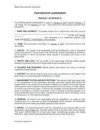 Partnership Proposal Samples Business Partnership Proposal Template Word Templates