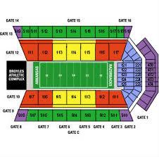 Razorback Seating Chart 52 Interpretive Arkansas Razorback Football Stadium Seating