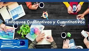 enfoques cualitativos y cuanativos