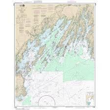 Noaa Chart 13295 Noaa Chart 13290 Casco Bay